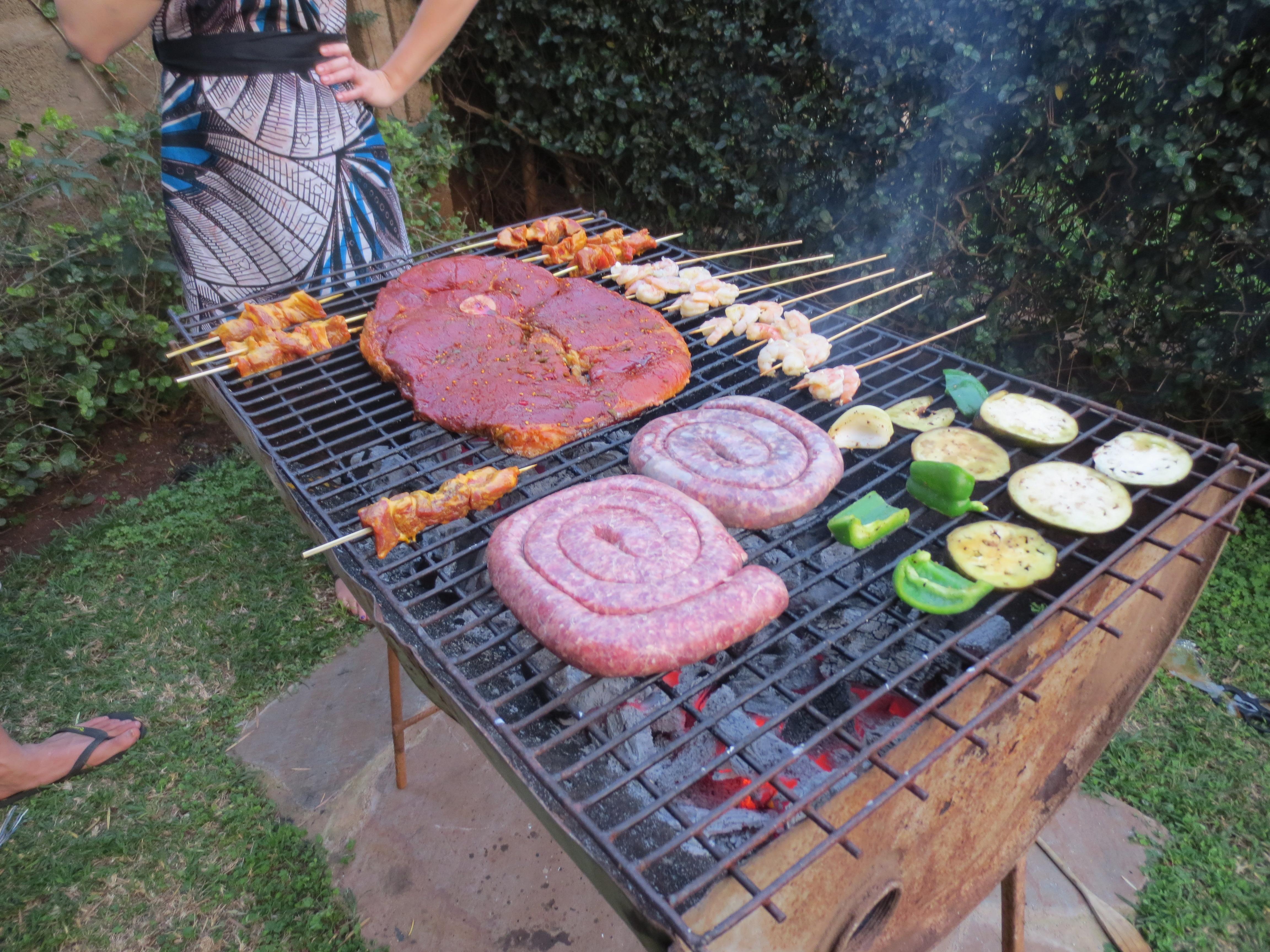 a backyard barbecue u2026 via con brio