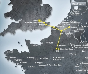 Eurostar web map ok