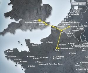 Eurostar web map ok