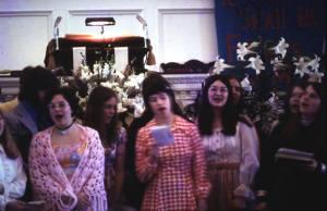 Singing in sanctuary