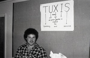 TUXIS sign